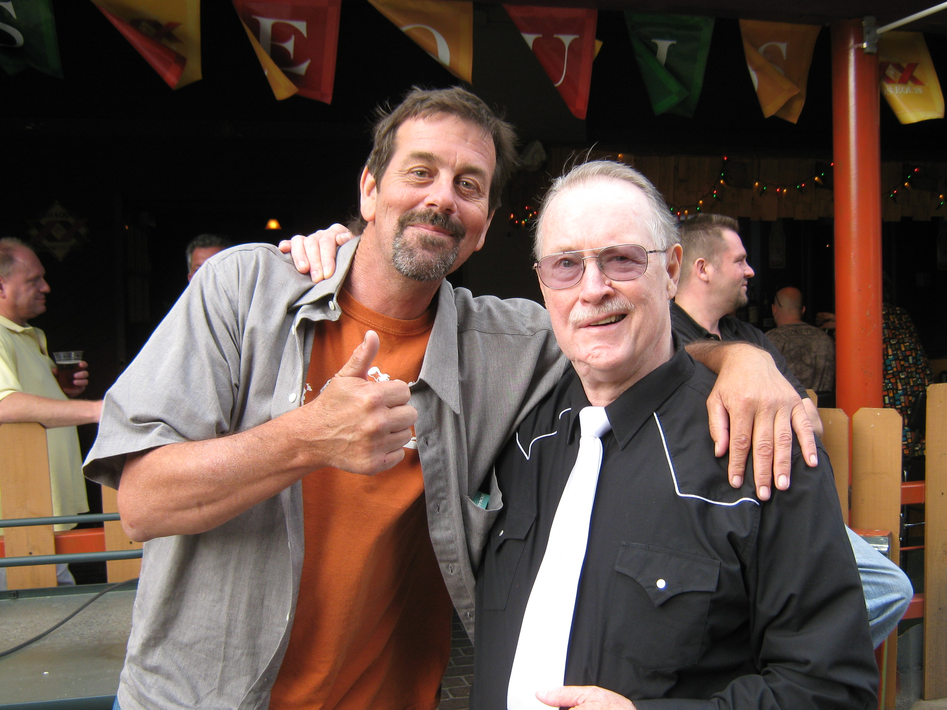 Scotty with the late Jerry Englerth