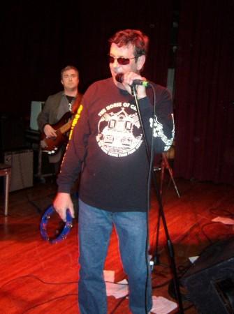 B. B. Lummocks and Tony Brown of the Press Tones