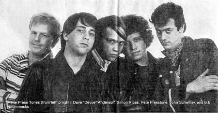 "The Press Tones (with Dave ""Devoe"" Anderson) ."